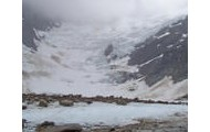 This is where thay lived, glacier