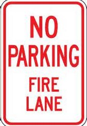 Safety Update-Please Do Not Park in Fire Lane