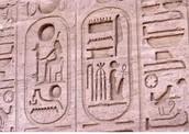 Hieroglyphics inside