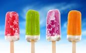 ICE CREAM Novelties for SALE on FRIDAY!
