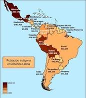 UBICACIÓN ACTUAL EN AMÉRICA LATINA DE LOS INDÍGENAS