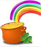 Rainbow, Gold and the Clover