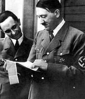 With my great friend Adolf