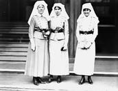 Nurses on there break