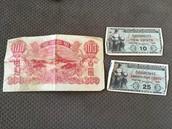 Military and Chinese money