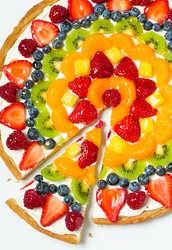 Homemade Fruit Pizza Crust