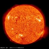 What are the suns layers?