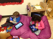 iPad Literacy station