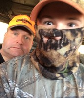 Me and my dad Hunting