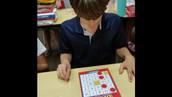 Playing Multiplication Bingo
