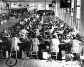 Sewing Bandages/Uniform Worker