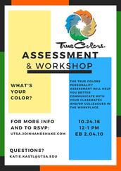 True Colors Assessment Workshop (10/24)
