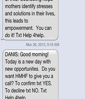 Text Messages Found to be Effective in Supporting Low Income Moms