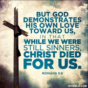 Christ Dying for our Sins