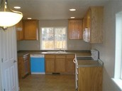 Bright kitchen with Recessed Lighting