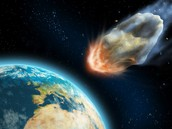 Meteor Heading Towards Earth