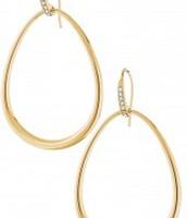 Goddess Teardrop Earrings - Rose Gold
