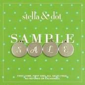 Stylist Sample Sale