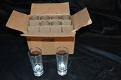 Tequila Shooters in 2 Oz Glasses 12 Per Box