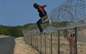 Jumping the border
