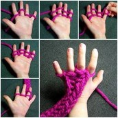 Making scarves is easy - and fun!