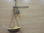 Descripción de la balanza romana