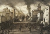 Carthage Destroyed in a Blaze of Roman Glory