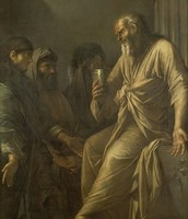 The death of socrate