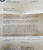 The letter his mother had received