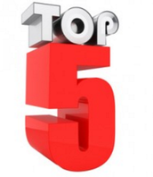 Top 5 to get you through the week