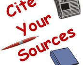 What is Citing Resources?  Why do you have to cite your resources?