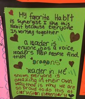 CE Dragons love the 7 habits