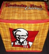 Free bag of fried KFC chicken for every ChickBot you buy