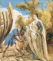Calypso sending Odysseus away