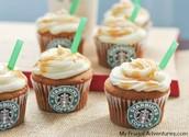 Starbucks Caramel Cupcake