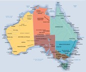 What is the size of Australia?