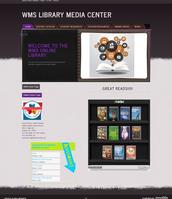 WMS Media Center web page