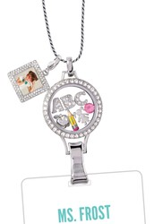 DRESS UP A BORING I.D. BADGE WITH A LANYARD LOCKET FROM ORIGAMI OWL