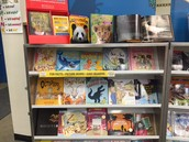 A close up of amazing animal-themed nonfiction books!