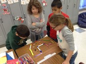 We made and obstacle course for the paper clip.