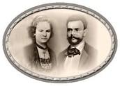 Antonin Dvorak and Anna Čermáková