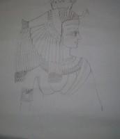 Schets Cleopatra