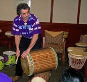 SUMMER SOLSTICE DRUMMING WITH CHE CARTAFALSA – Sat. June 18, 2 pm