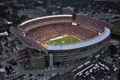 voy a el futbol estadio el futuro