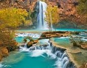 grand canyon water fall