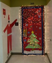 Holiday Door Decor Winners