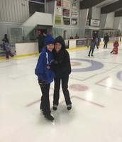 Me gusta patinar sobre hielo.