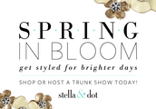 A Stella & Dot Pop-Up Trunk Show is coming to Building Blocks.