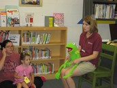 Read books, sing songs, and have fun with Miss Beth!