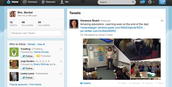 Mrs. Becker Tweets!
